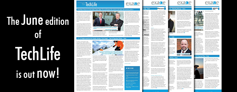Exaxe's life, pensions and technology newsletter TechLife June 2015