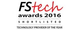 Exaxe shortlisted for FStech Awards