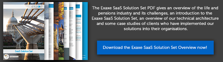 Exaxe SaaS Solutions 2016