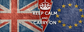 Brexit Pensions keep calm carry on