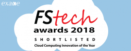 Exaxe shortlisted for the Cloud Computing of the Year award